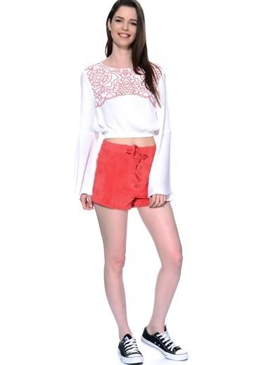 Mink Pink Pantolon Kırmızı
